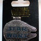Disney Star Wars The Force Awakens Millennium Falcon Chewie We're Home Pin Ltd Ed 10000