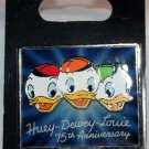 Disney Huey, Dewey and Louiie 75th Anniversary Pin Limited Edition 1000