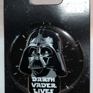 Disney Star Wars Darth Vader Lives Pin and Button Combo Limited Edition 4000