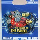 Disneyland Cars Land Gear Up For Adventure Pin Stitch Keep All Hands On The Wheel Ltd. Ed. 500