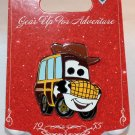 Disneyland Gear Up For Adventure Toy Story Sheriff Woody Car Pin Limited Edition 500