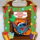 Disneyland Merry Christmas 2008 Pin Stitch Stocking Limited Edition 1000
