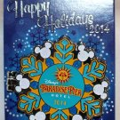 Disneyland Happy Holidays 2014 Paradise Pier Hotel Pin Donald Duck Limited Edition 500