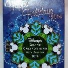 Disneyland Happy Holidays 2014 Grand Californian Hotel Pin Bambi Limited Edition 750