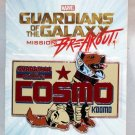 Disneyland Marvel Guardians of the Galaxy Mission Breakout Cosmo Space Dog Pin