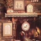 Stoney Creek Collection Home Grown Love 12 Designs to Cross Stitch