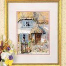 Pegasus Originals Marty Bell's Sweetheart Thatch in Cross Stitch