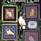 Pegasus Originals Stephanie's Cats 8 Designs to Cross Stitch