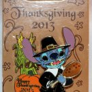 Disney Happy Thanksgiving 2013 Pin Stitch Limited Edition 3000