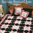 Stoney Creek Collection Specialty Stitched Quilts 12 Blocks to Cross Stitch