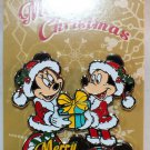 Disney Merry Christmas 2016 Pin Mickey and Minnie Limited Edition 5000