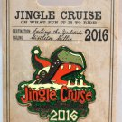 Disneyland Jingle-Jungle Cruise 2016 Pin Limited Edition 3000