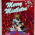 Disneyland Merry Mistletoe 2013 Pin Mickey and Minnie Limited Edition 2000