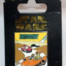 Disney Parks Star Wars Tatooine Poster Pin Luke and C-3PO in Landspeeder