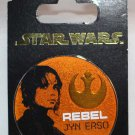 Disney Parks Rogue One Jyn Erso Circular Pin