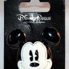 Disney Parks Mickey Mouse Face 3D Ceramic Pin