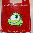Disneyland Gear Up For Adventure Monsters Inc. Mike Wazowski Car Pin Limited Edition 500