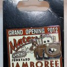 Disneyland Resort Cars Land Mater's Junkyard Jamboree Grand Opening Pin LImited Edition 2000