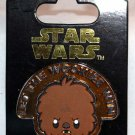 Disney Parks Star Wars Cuties Pin Chewbacca