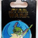 Disney Parks Star Wars Stitch as Yoda Pin There Is No Try