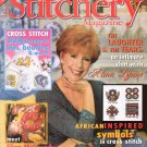 The Stitchery Magazine January 1998 Issue 22 Projects to Cross Stitch Alma Lynne