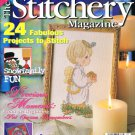 The Stitchery Magazine January 1999 Issue 24 Cross Stitch Projects Reproduction Sampler