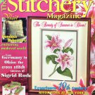 The Stitchery Magazine July 1998 Issue 23 Cross Stitch Projects Bless America Sampler