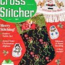 The Cross Stitcher Magazine December 1997 Issue 24 Projects to Stitch Ornaments Stocking