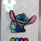 D23 Expo 2017 Disney Store MXYZ Stitch and Scrump Pin Limited Edition 3000