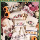 Leisure Arts Favorite Fingertips 16 Designs to Cross Stitch