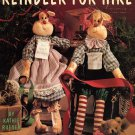Leisure Arts Reindeer for Hire Full-Size Patterns for Boy and Girl Dolls and Clothing