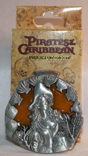 Walt Disney Imagineering WDI Pirates of the Caribbean Pieces of Eight Pin Female Pirate Ltd Ed 300