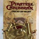 Walt Disney Imagineering WDI Pirates of the Caribbean Pieces of Eight Pin Treasure Map Ltd Ed 300