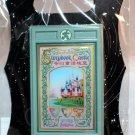 Walt Disney Imagineering WDI Shanghai Resort Enchanted Storybook Castle Poster Pin Ltd Ed 300