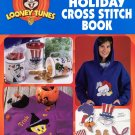 Leisure Arts Official Looney Tunes Holiday Cross Stitch Book 34 Designs for Christmas Easter