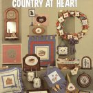 Leisure Arts Milly Smith's Country at Heart 20 Designs to Cross Stitch Plus Alphabet