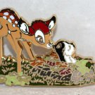 D23 Expo 2017 Disney Store Bambi 75th Anniversary Pin Limited Edition 300 Bambi and Flower