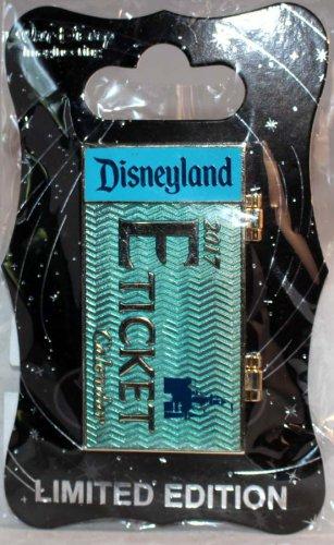Walt Disney Imagineering WDI Disneyland E Ticket Calendar Pin February 2017 Limited Edition 250