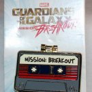 Disneyland Marvel Guardians of the Galaxy Mission Breakout Baby Groot and Tape Pin