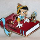 Walt Disney Imagineering WDI 2017 D23 Expo Storybook Collection Pin Ltd Ed 250 Pinocchio