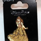 Disney Parks Beauty and the Beast Glitter Dress Belle Pin