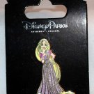 Disney Parks Tangled Glitter Dress Rapunzel Pin