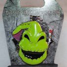 Disneyland This is Halloween 2016 Nightmare Before Christmas Oogie Boogie Pin Ltd Ed 2000