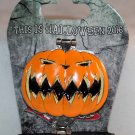 Disneyland This is Halloween 2016 Nightmare Before Christmas Pumpkin King Pin Ltd Ed 2000
