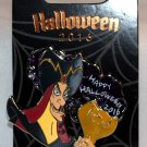Disney Happy Halloween 2016 Jafar Stained Glass Pin Limited Edition 3000