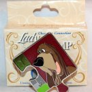 Disney Character Connection Lady and the Tramp Puzzle Piece Mystery Pin Trusty Ltd Ed 900
