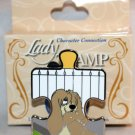 Disney Character Connection Lady and the Tramp Puzzle Piece Mystery Pin Peg Ltd Ed 900