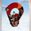 Disney Hot Air Balloon Mystery Pin Collection The Incredibles