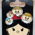 Disney Parks Snow White and the Seven Dwarfs Tsum Tsum Pin