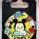Disney Parks Tsum Tsum Circular Spinner Pin with Mickey Mouse and Friends